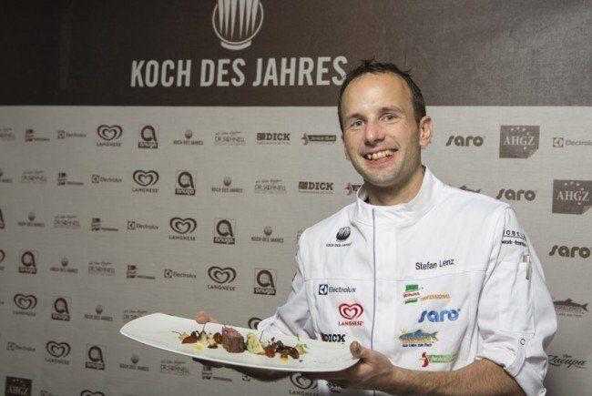 """Vorarlberger Koch Stefan Lenz ist """"Koch des Jahres 2015 ..."""