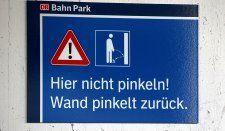 """""""Vorsicht: Wand pinkelt zurück!"""""""
