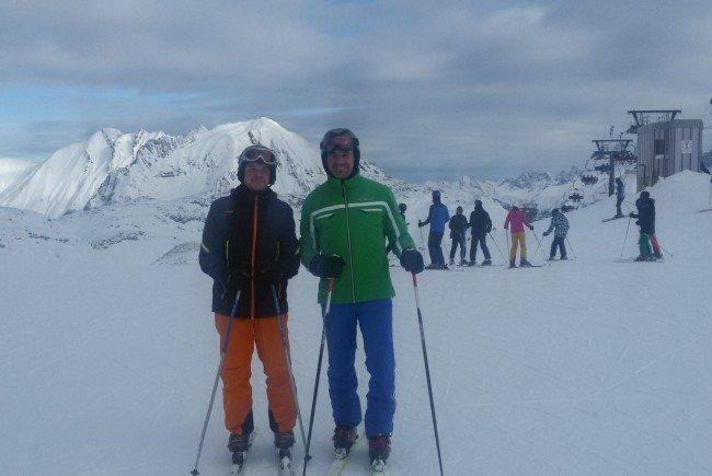Schönster Skitag der Saison