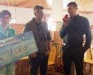 Schneegestöber 2015 – Spende an den Sozialsprengel Hinterwald