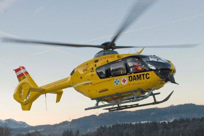 Verletzer wurde ins Krankenhaus geflogen