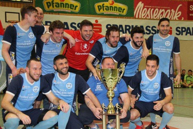 Zum sechsten Mal Masterssieger: FC Hard