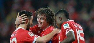 Mainz feierte dank Baumgartlinger-Tor 2:1-Sieg über Schalke