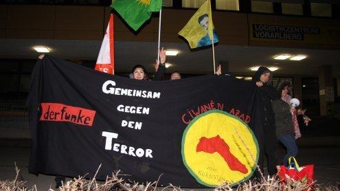 Kurden demonstrierten vor dem türkischen Konsulat in Wolfurt