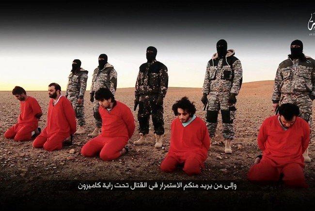 Seit Jahren stellt die Terrormiliz IS immer wieder Tötungsvideos online.