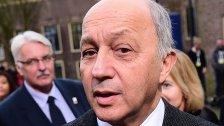 Paris: Außenminister Fabius tritt zurück