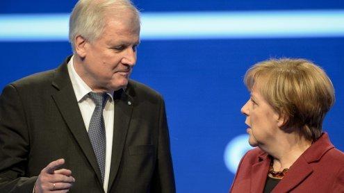 """""""Herrschaft des Unrechts"""": Horst Seehofer greift Merkel frontal an"""