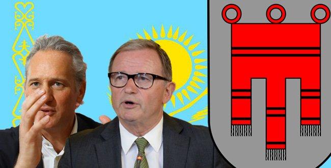 IV-Präsident Martin Ohneberg und NR-Präs. Karlheinz Kopf.