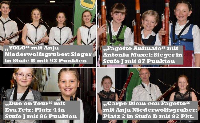 Herausragende Leistungen der jungen Musikanten