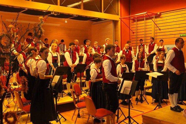 Reuthinger Musikanten spielen ihr traditionelles Frühjahskonzert