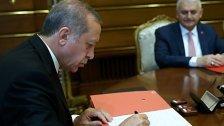 Türkei läutet Umbau zum Präsidialstaat ein