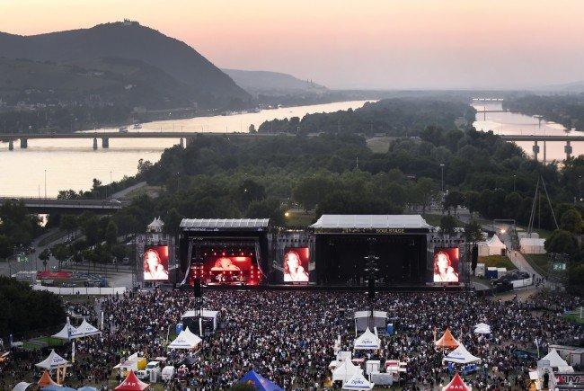 Zeitplan und Line Up zum Rock in Vienna 2016.