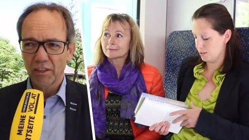 Aktion: Bücher fahren im Zug mit und jeder Fahrgast darf zugreifen