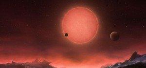 Wissenschafter meldeten Entdeckung potenziell bewohnbarer Planeten