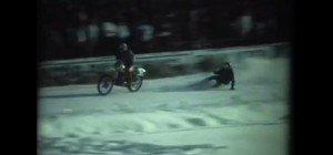 Eisrennen: Videos vom Skijöring im Bregenzer Casino-Stadion aufgetaucht