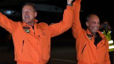 """Solar Impulse 2"" in Arizona gelandet"