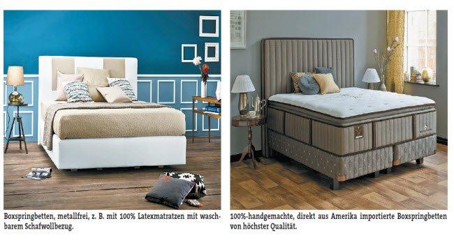sleep more der spezialist f r boxspringbetten vol at. Black Bedroom Furniture Sets. Home Design Ideas