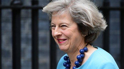 Britische Ministerin May bewirbt sich um Cameron-Nachfolge