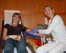 Blutspendeaktion in Thüringen