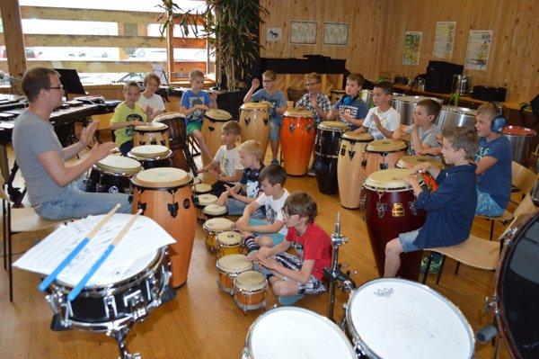Drummer- Camp im Großen Walsertal