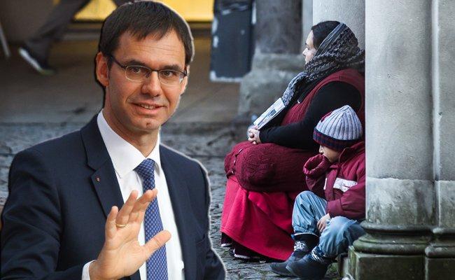 Die Landesregierung unterstützt in der Causa Bettelverbot die Stadt Bregenz.