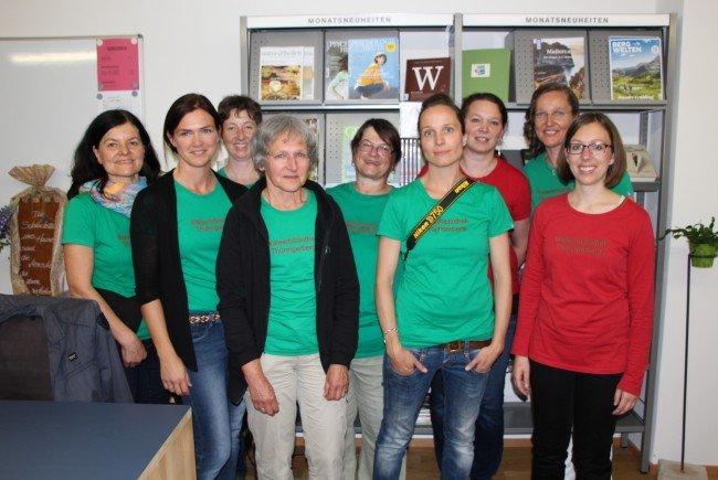 Das Team der Walserbibliothek Thüringerberg.