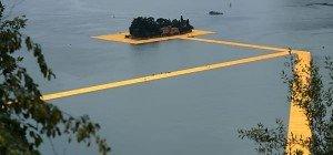 """Schon 1,2 Millionen Besucher bei Christos """"Floating Piers"""""""