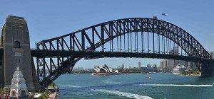 Australien verrutscht auf der Weltkarte