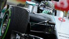 Hamilton-Crash und Bestzeit für Rosberg