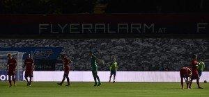 Drei Flutlicht-Ausfälle: Admira verliert EL-Duell gegen Slovan Liberec
