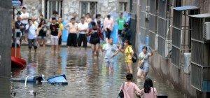 Rund 100 Tote durch Unwetter in China