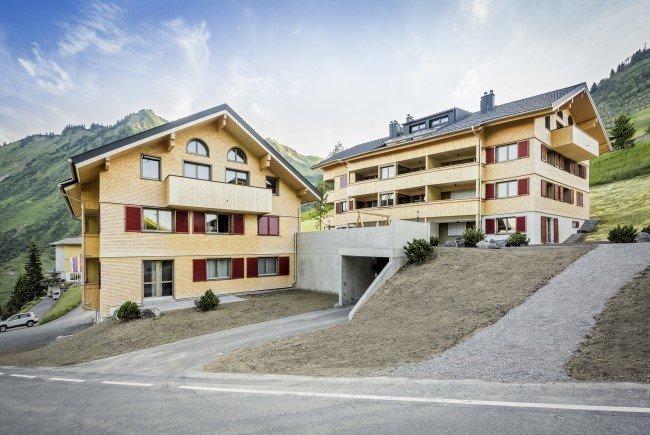 Die Alpen.Lodge wurde schneller als ursprünglich geplant fertiggestellt.