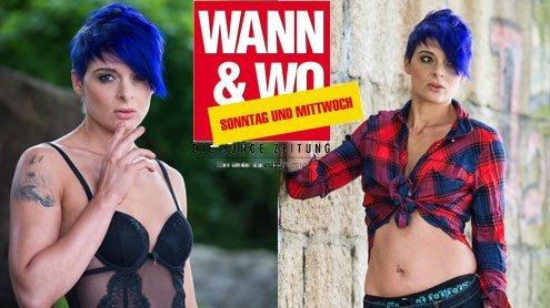 W&W-Fotoshooting mit Maria