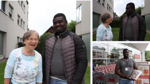 Von Biafra ins Ländle: Emeka Amadi über seine Geschichte