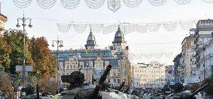 Ukraine feiert 25 Jahre Unabhängigkeit mit Militärparade