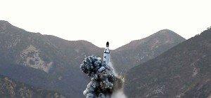 Nordkorea feuert Rakete von U-Boot ab