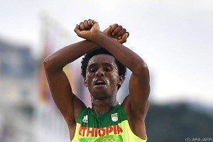 Marathonläufer Lilesa will nicht nach Äthiopien zurückkehren