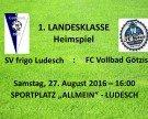 SV frigo Ludesch – Heimspiel