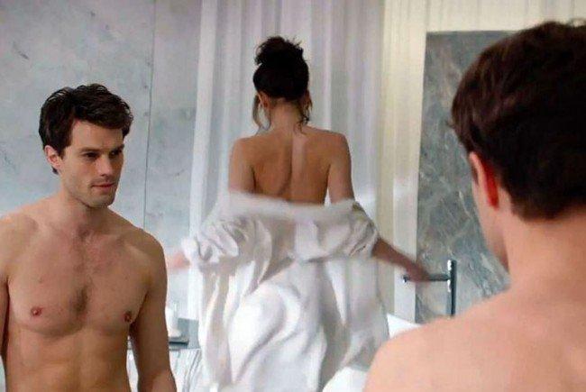 "Szene aus dem Film ""50 Shades of Grey""."