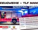 Fahrzeugweihe TLF 3000/200
