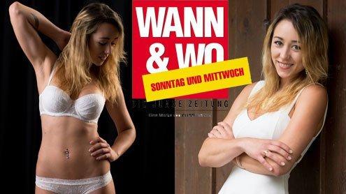 W&W-Fotoshooting mit Janine