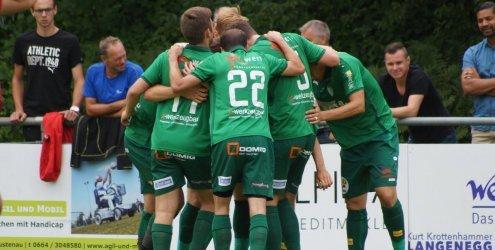 Regionalliga bis 1. Landesklasse - Langenegg nur Remis in Rankweil