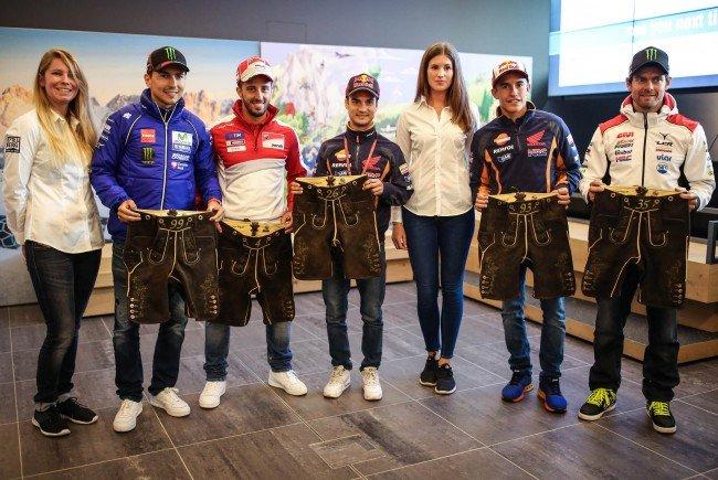 Die MotoGP und ihre Stars haben das Kommando im Murtal übernommen