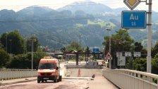 Lustenau: Rheinbrücke ab Samstag wieder frei