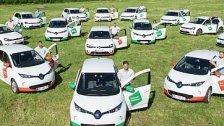 Vorarlbergs größte private E-Auto-Flotte