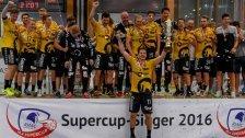 Bregenz Handball wurde erstmals Supercupsieger