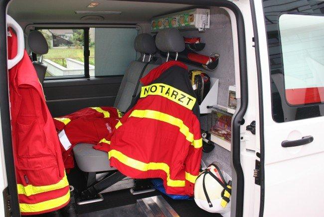 Die Verletzten wurden ins KH Bregenz eingeliefert