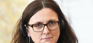 Malmström hofft auf Unterzeichnung von CETA Ende Oktober