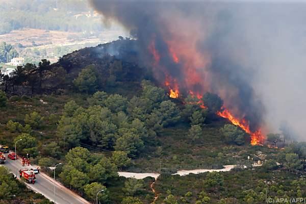 Waldbrände in Spanien und Frankreich unter Kontrolle