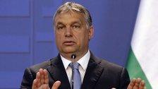 Orban will eine Million Flüchtlinge abschieben